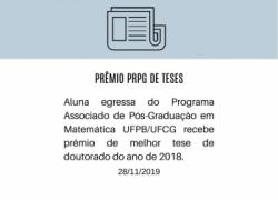 Prêmio PRPG de Teses