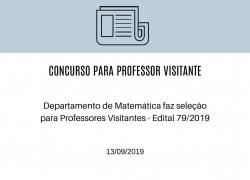 Professor Visitante - Resultado Final