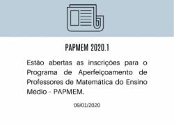 PAPMEM 2020.1